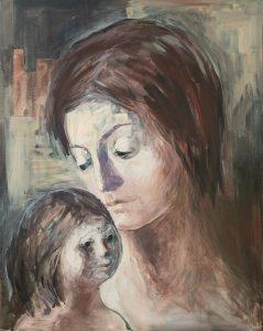 Art in motherhood or motherhood as art